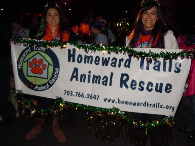 These folks were lined up behind us, with lots of dogs, some in tutus, looking for homes.