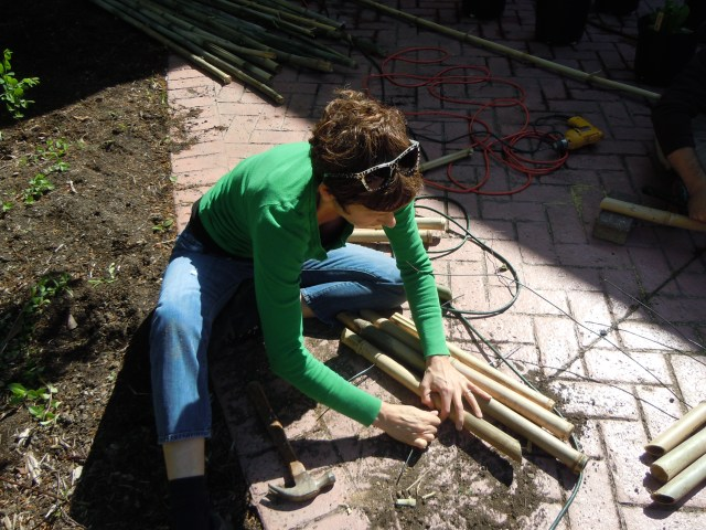 Lynn practices the second step in design/build...
