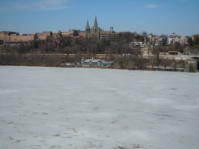 Soon the river will thaw and the docks of the Washington Canoe Club will be crowded with rowers and paddlers.
