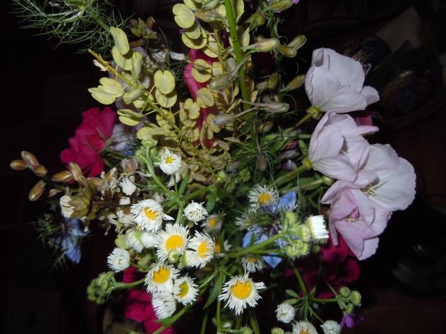 I do love a mixed bouquet!