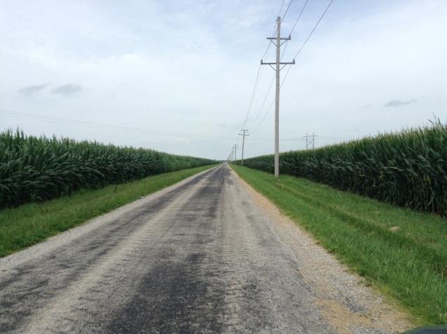 Miles of corn...