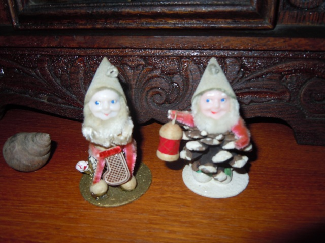 These elves, which have pretty ghastly complexions, were the height of Christmas magic for me and my brother.
